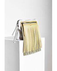 HUNTER | Original Rubber Fringe Pouch Bag | Lyst