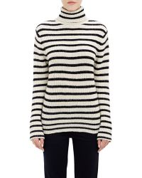 IRO Striped Turtleneck Sweater - Lyst
