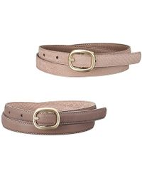 Uniqlo Women Reversible Belt - Lyst