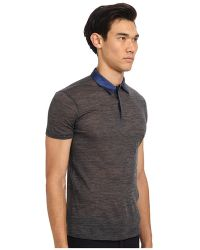 Costume National Polo W Contrast Color - Lyst