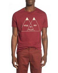 Poler Stuff - 'venn' Graphic T-shirt - Lyst