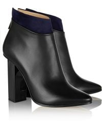 Jimmy Choo Legion Suedetrimmed Leather Ankle Boots - Lyst