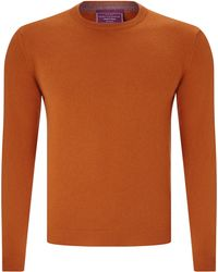John Lewis - Made In Italy Cashmere Crew Neck Jumper - Lyst