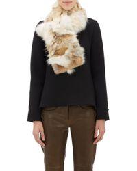 Barneys New York | Fur Scarf | Lyst