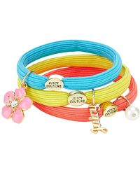 Juicy Couture - Set Of 3 Charm Hairbands - Lyst