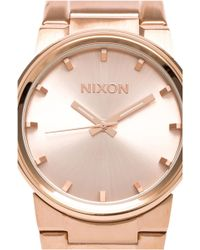 Nixon The Cannon in Rose - Lyst