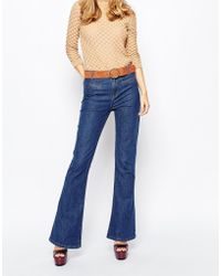 First & I - Flared Jeans - Lyst