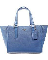 Coach Handbag Bag Mini Crossbe Carryall Shopping Leather - Lyst