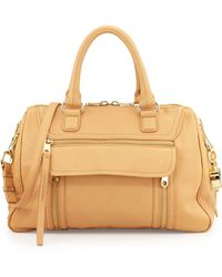 Cynthia Rowley Reece Leather Satchel Bag - Lyst