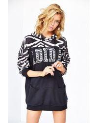 Adidas Zebra Pullover Hoodie Sweatshirt - Lyst