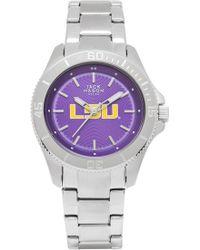 Jack Mason Brand - 'louisiana State University Tigers' Bracelet Watch - Lyst