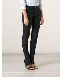 Hudson Stark Moto Jeans - Lyst