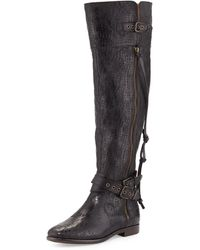 Ugg Ugg Collection Nicoletta Scored Over-the-knee Boot  - Lyst