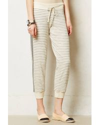 Anthropologie Pomme Striped Trousers - Lyst