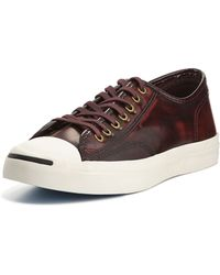 Converse Jack Purcell Marbled Leather Sneakers - Lyst