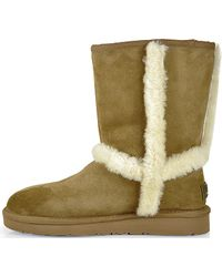 Ugg Carter - Suede Shearling Boot - Lyst