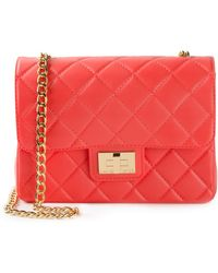 Designinverso Small Quilted Shoulder Bag - Lyst