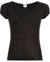 Armani Sparkly Top - Lyst