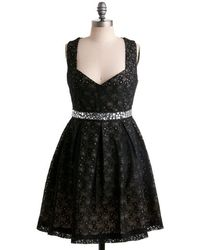 Monteau Inc - Eyelet Up The Room Dress - Lyst