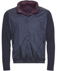 Ermenegildo Zegna Blue/Purple Sweater Jacket - Lyst