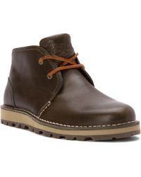 Sperry TopSider  Mens Sperry Leather Chukka Boots  Lyst