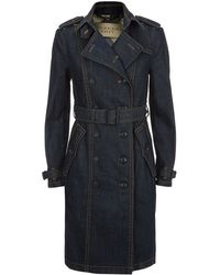 Burberry Brit | Bramdale Denim Trench Coat | Lyst