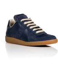 Maison Martin Margiela Leather Replica Sneakers - Lyst