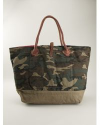 Ralph Lauren - Camouflage And American Flag Tote - Lyst