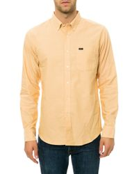 RVCA The That'Ll Do Long Sleeve Buttondown - Lyst