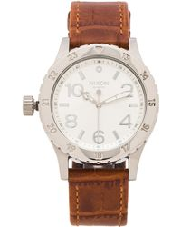 Nixon The 38-20 Leather - Lyst