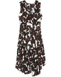 A.L.C. Nello Floral-Print Silk Dress - Lyst