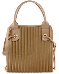 See By Chloé Sheen Quilted Leather Tote Bag - Lyst
