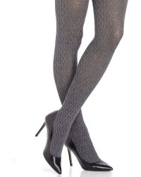 Fogal - Eyrin Cable Knit Tights - Lyst