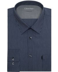 Calvin Klein Extreme Slim Fit Pinstripe Dress Shirt - Lyst