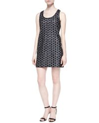 Shoshanna Kimberly Sequined Polka-dot Dress - Lyst