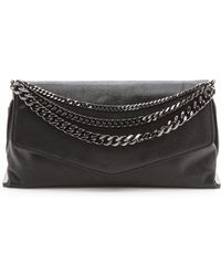 Milly Collins Clutch - Black - Lyst