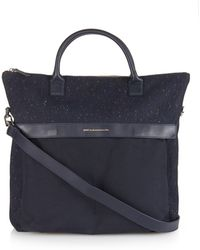 Want Les Essentiels De La Vie - O'Hare Canvas And Leather Tote - Lyst