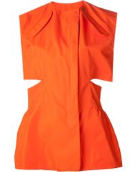 Damir Doma Cut Out Tunic - Lyst