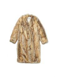 Wayne - Faux Fur Coat - Lyst