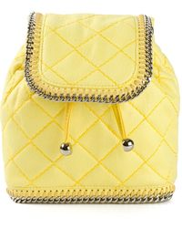Stella McCartney Falabella Quilted Backpack - Lyst
