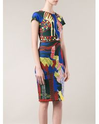 Mary Katrantzou 'Scuba' Dress - Lyst