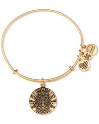 ALEX AND ANI - Hand Of Fatima Ii Expandable Wire Bangle - Lyst