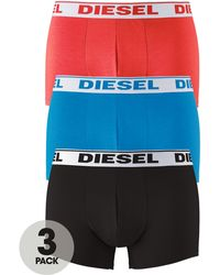 Diesel Block Trunks 3 Pack - Lyst