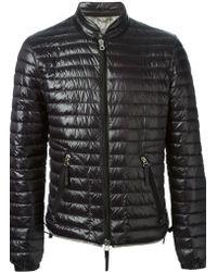 Duvetica Black Padded Jacket - Lyst