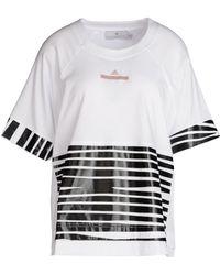 Adidas By Stella McCartney | Essentials Zebra T-shirt | Lyst