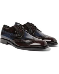 Tod's Leather Brogues - Lyst