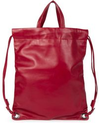 Robert Clergerie - Drawstring Backpack - Lyst