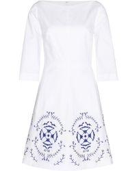 Tory Burch Dani Cotton Dress - Lyst