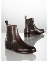 Ralph Lauren Belgrade Chelsea Boot - Lyst