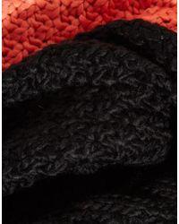 Liquorish - Cable Knit Snood - Lyst